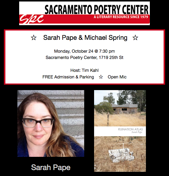 SPRING & PAPE at SPC Mon. (10/24)