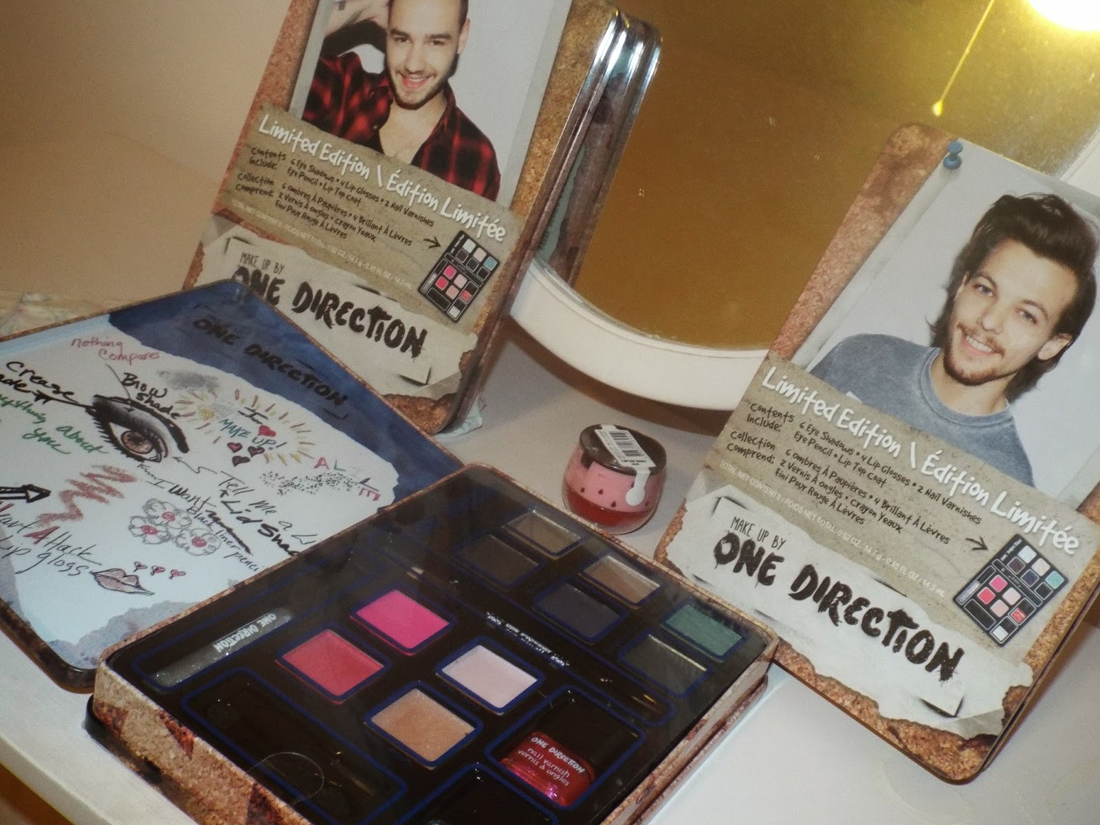 One Direction Limited Edition Tins