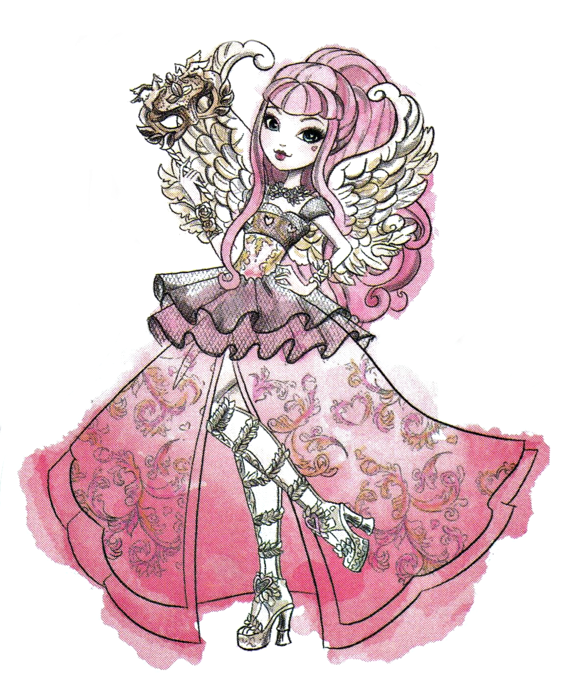 It is a picture of Genius Pics of Ever After High