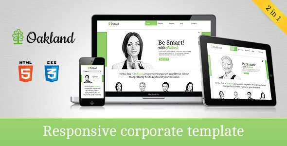 Responsive Corporate HTML5 Template 28 Free HTML5 Website Templates Layout 