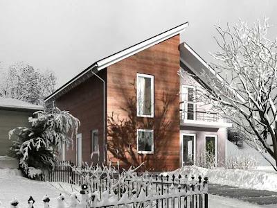 kışlık prefabrik ev