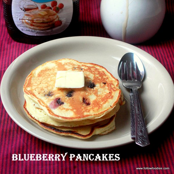 ... foodie: BLUEBERRY PANCAKES | EASY PANCAKES RECIPES | BLUEBERRY RECIPES