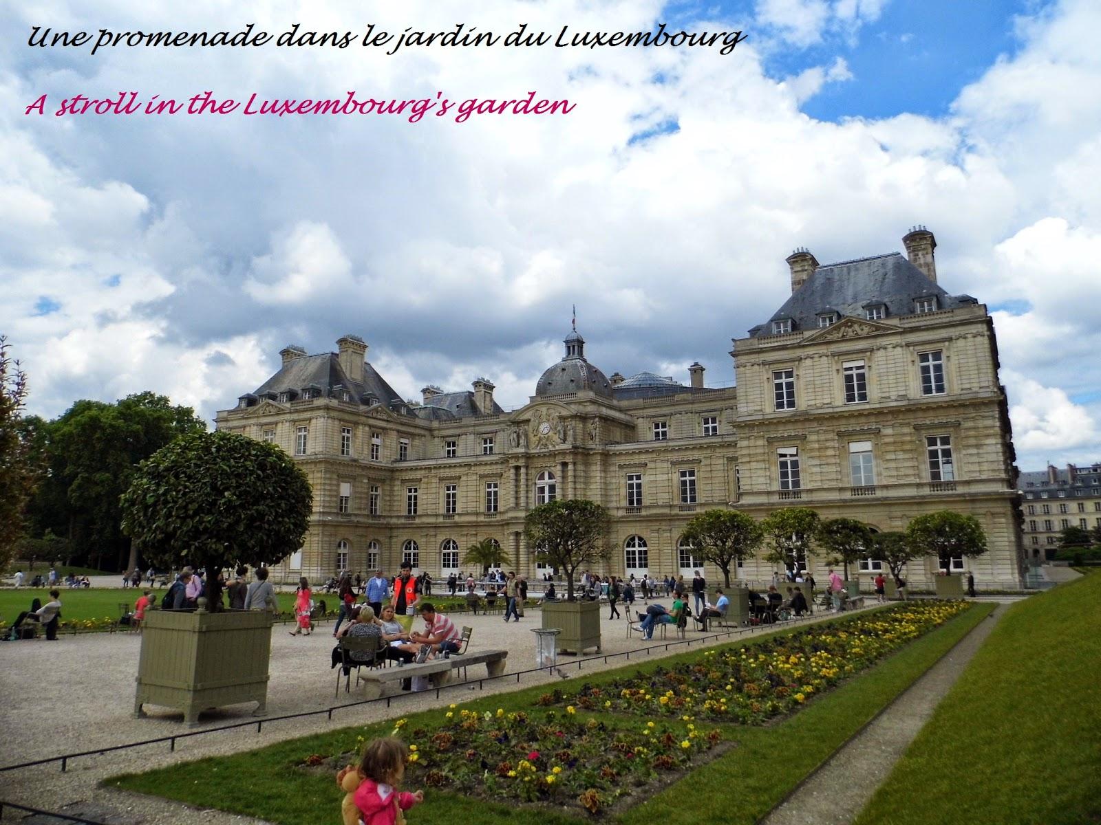 La Cité des Vents Paris Promenade dans le jardin du Luxembourg