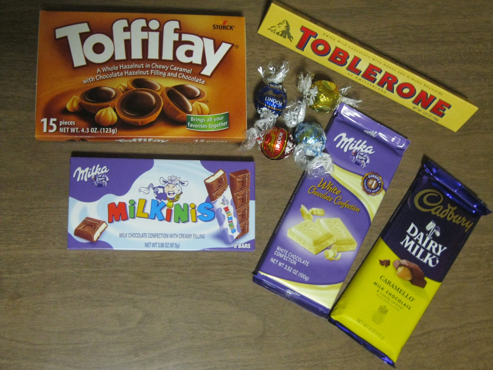 With This Package I Didnt Want To Go With The Usual American Candy So I Splurged And Got The Really Good European Stuff You Could Use Any Kind Of Candy