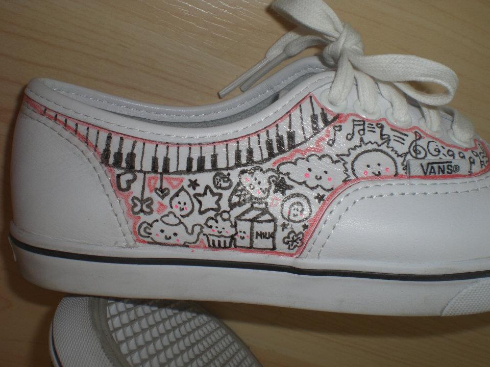Imagine design create inspire diy shoes cute doodle vans for Diy shoes design