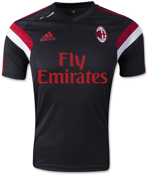 AC Milan 14-15 Training Jerseys
