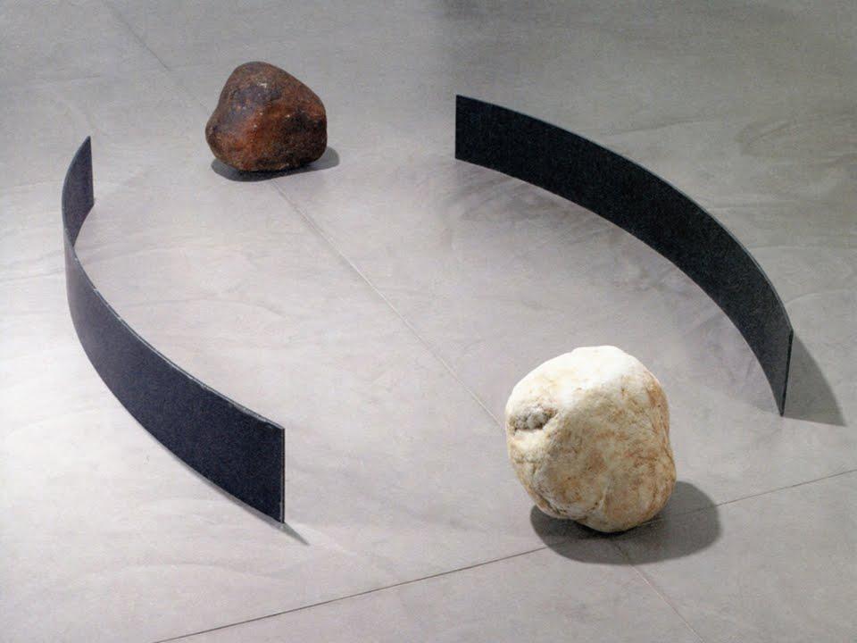Detalhe do cenário no Museu Guggenheim
