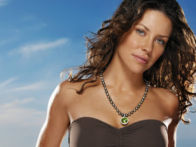 Canadian Beauty Evangeline Lilly Wallpaper