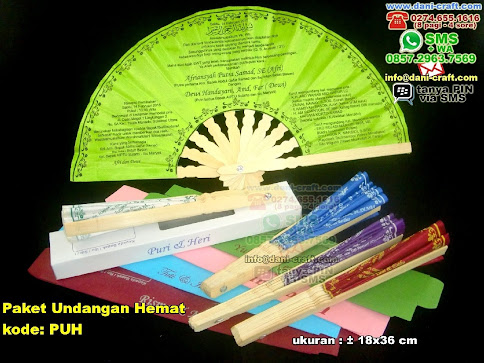 Paket Undangan Hemat Bambu Kain