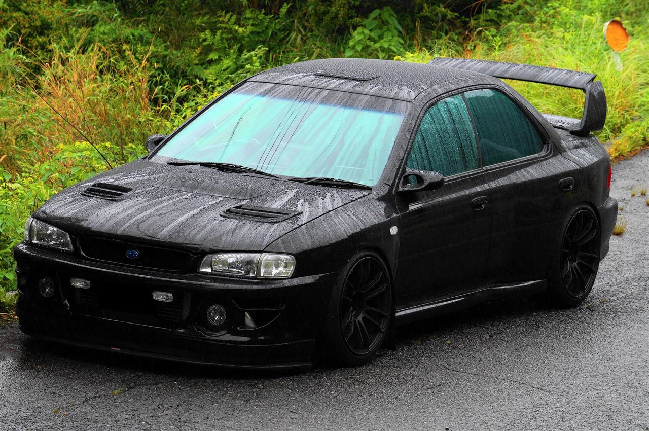 Subaru Impreza I, japoński sportowy sedan, boxer, AWD, JDM, tuning