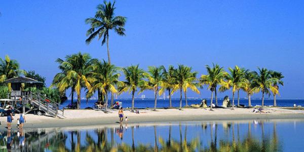 Praias de Miami Matheson Hamock Park