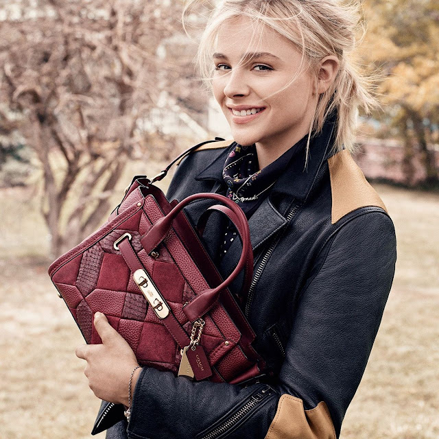 Coach Fall/Winter 2015 Campaign featuring Chloe Grace Moretz