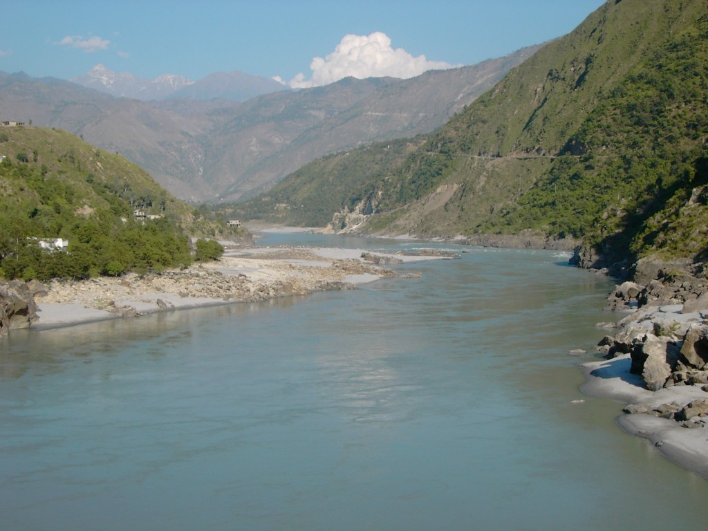 English around the world: Indus River