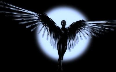 Angel oscuro de Luna