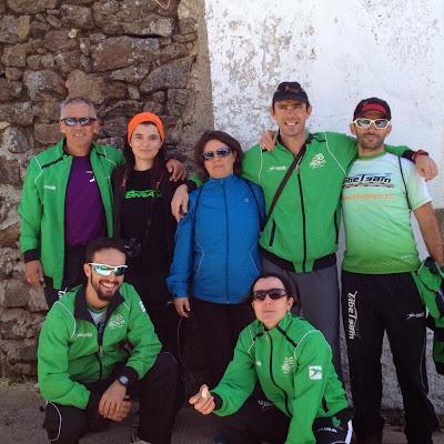 participantes del tribe team de Béjar