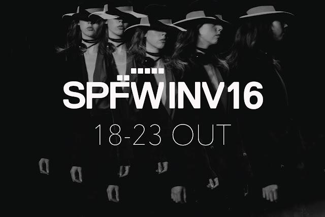 SPFW Inverno 2016 - Calendário de Desfiles