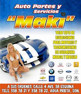 Autopartes Maki
