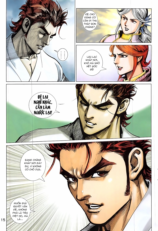 Thần Chưởng chap 24 – End Trang 15 - Mangak.info