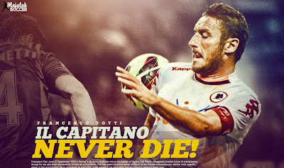 Totti - AS Roma - Wallpaper Sepakbola Terbaru 2012-2013
