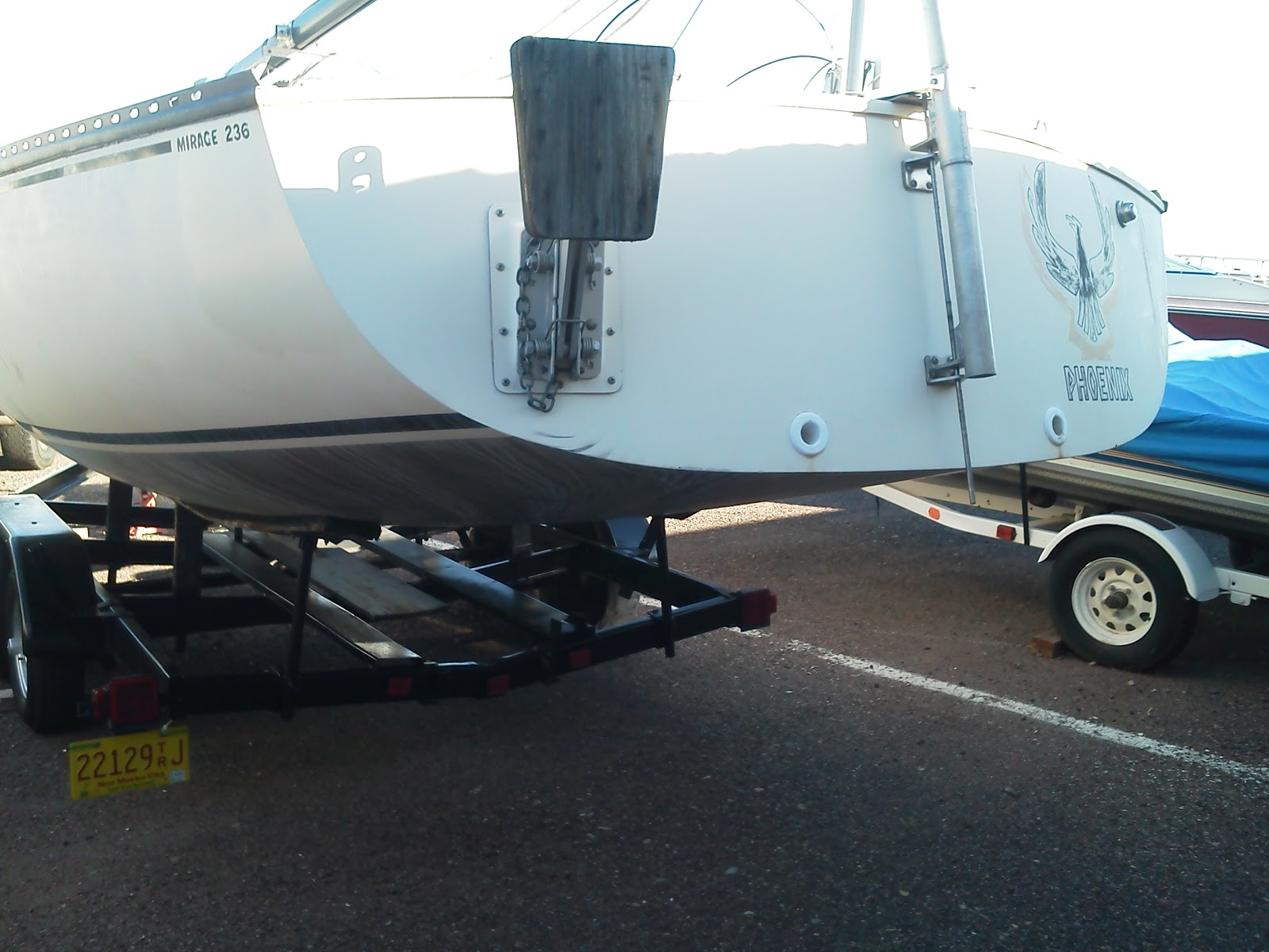 Mirage 236 Sailboat Refit And Sailing Boat Wiring Diagram The Owners Dad I Spent An Hour Getting Setup Was Off To Phx