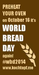 partecipo alla giornata mondiale del pane