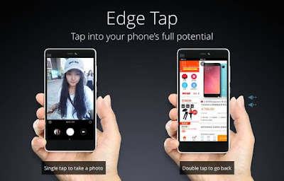 Xiaomi Mi4c Edge Tap Technology