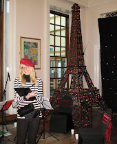 Ingrid Sylvestre - Caricaturist at Paris themed event