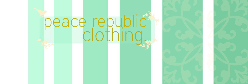 Peace Republic Clothing
