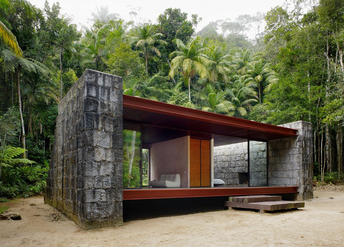 Simplicity love rio bonito house brazil carla jua aba for Holistic house