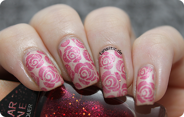 BeYu 820+857 gallery of nail colors stamping