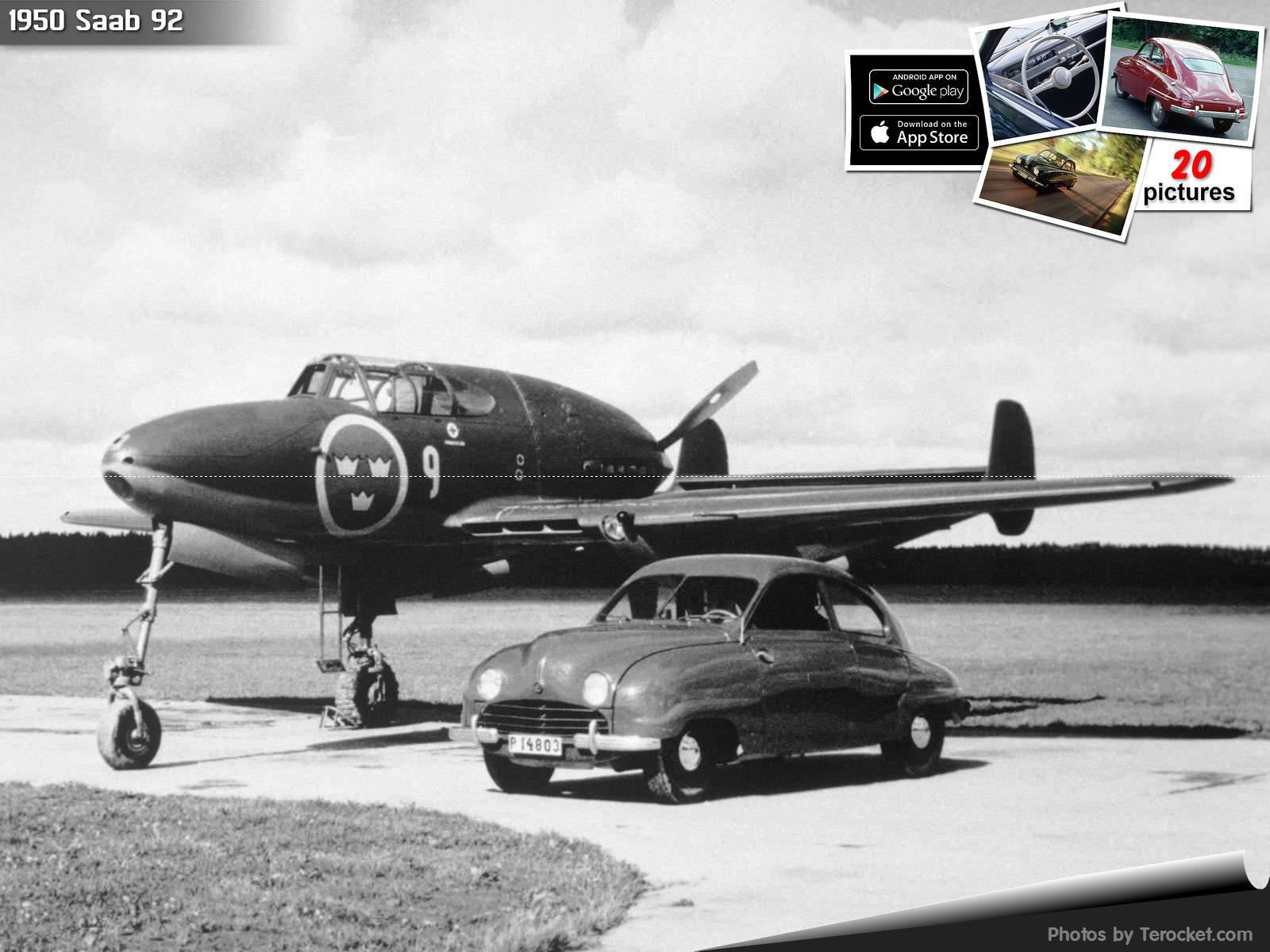 Hình ảnh xe ô tô Saab 92 1950 & nội ngoại thất