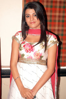 Tashu Kaushik in Spicy Churidar Cute Long Hairs