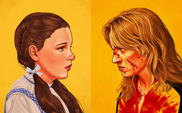 Personagens da Cultura Pop por Mike Mitchell