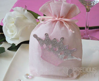 crown thmed christening favors