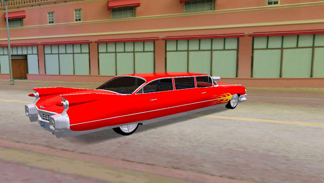 Cadillac Lovefist Limo 1959 GTA Vice City