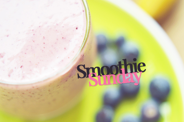 Recipe : Orange, Blueberry & Banana Smoothie.