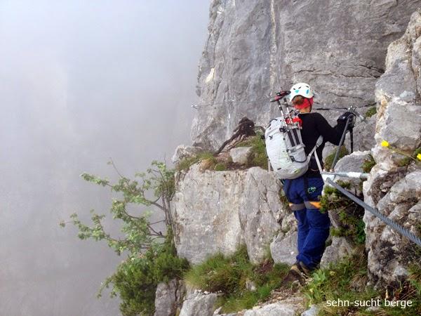 schwere klettersteige dolomiten