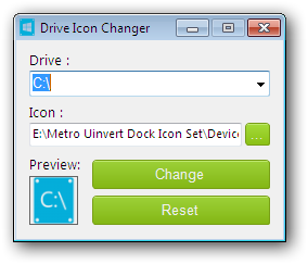 Program Icon Changer
