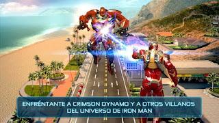 صورة من داخل لعبة Iron Man 3