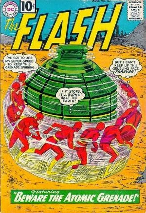 The Flash #122 comic cover pic