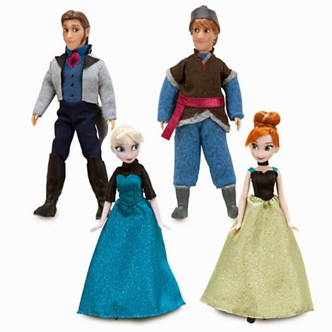 Never Grow Up: A Mom's Guide to Dolls and More!: New Frozen Arrivals ...