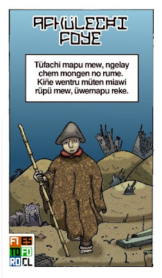 Comic Mapuche en mapudungun - Afkülechi Foye