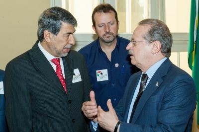 Governador Tarso com embaixador palestino, Ibrahim Al Zeben