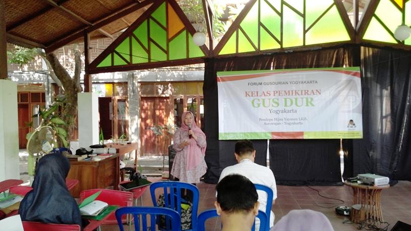 Pembukaan Kelas Pemikiran Gusdur dan Launching Pojok GusDur