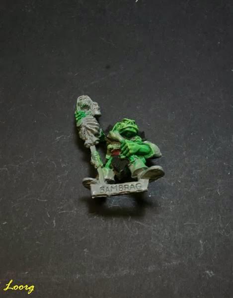 chamán músico de RRD5 - Ruglud's Armoured Orcs - The Spike-Can Commandoes