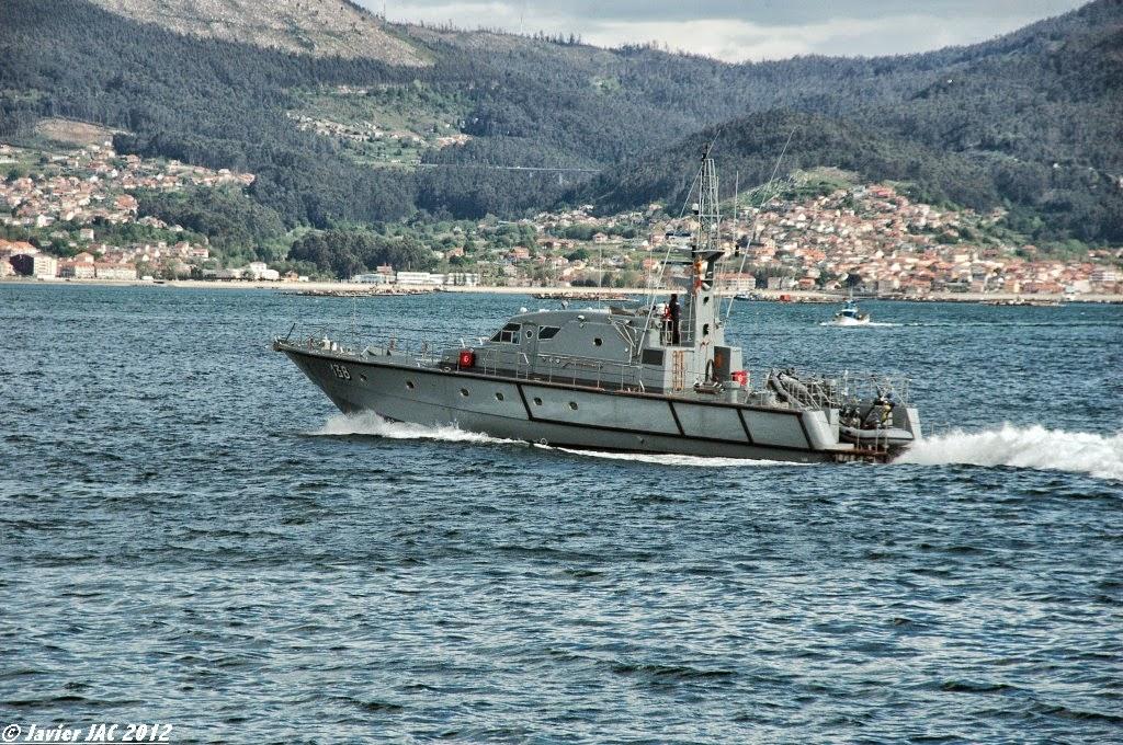 Moroccan Law Enforcement & Cost Guard Fleet / Vedettes de Surveillance et les Gardes des Côtes - Page 5 Clase+Rodman-101+P-138+(3)