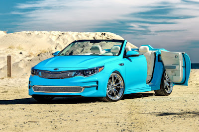 Kia A1A Optima Concept (2015) Front Side