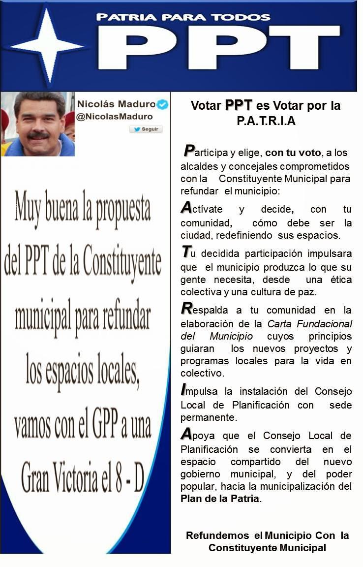 CONSTITUYENTE MUNICIPAL