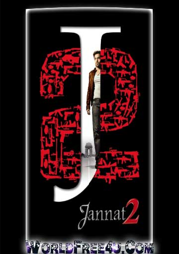 Poster Of Bollywood Movie Jannat 2 (2012) 300MB Compressed Small Size Pc Movie Free Download World4ufree.Org