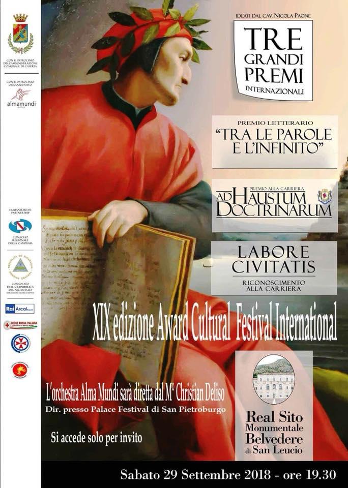L'ULTIMA LUNA VINCE IL PREMIO della CRITICA al XIX° Award Cultural Festival International
